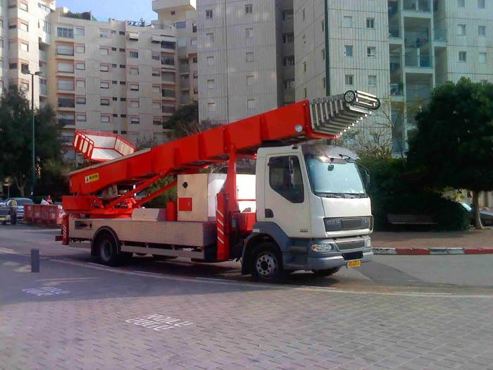 הגדול פאוס ליפט ישראל מנופים יבאו ושיווק OS-94