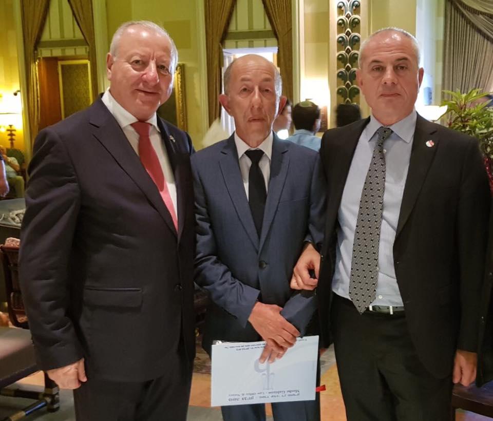 שגריר גאורגיה בישראל, פאאטה קלאנדדזה ושגריר ישראל בגאורגיה, שבתאי צור